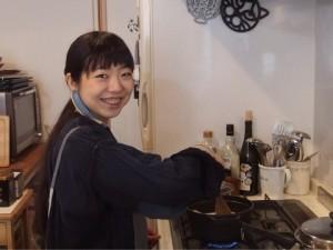 お料理教室の様子 笑顔