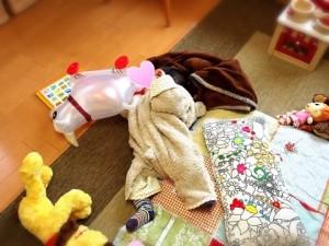 赤ちゃんとお料理教室