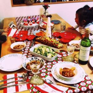 クリスマスお料理教室の様子